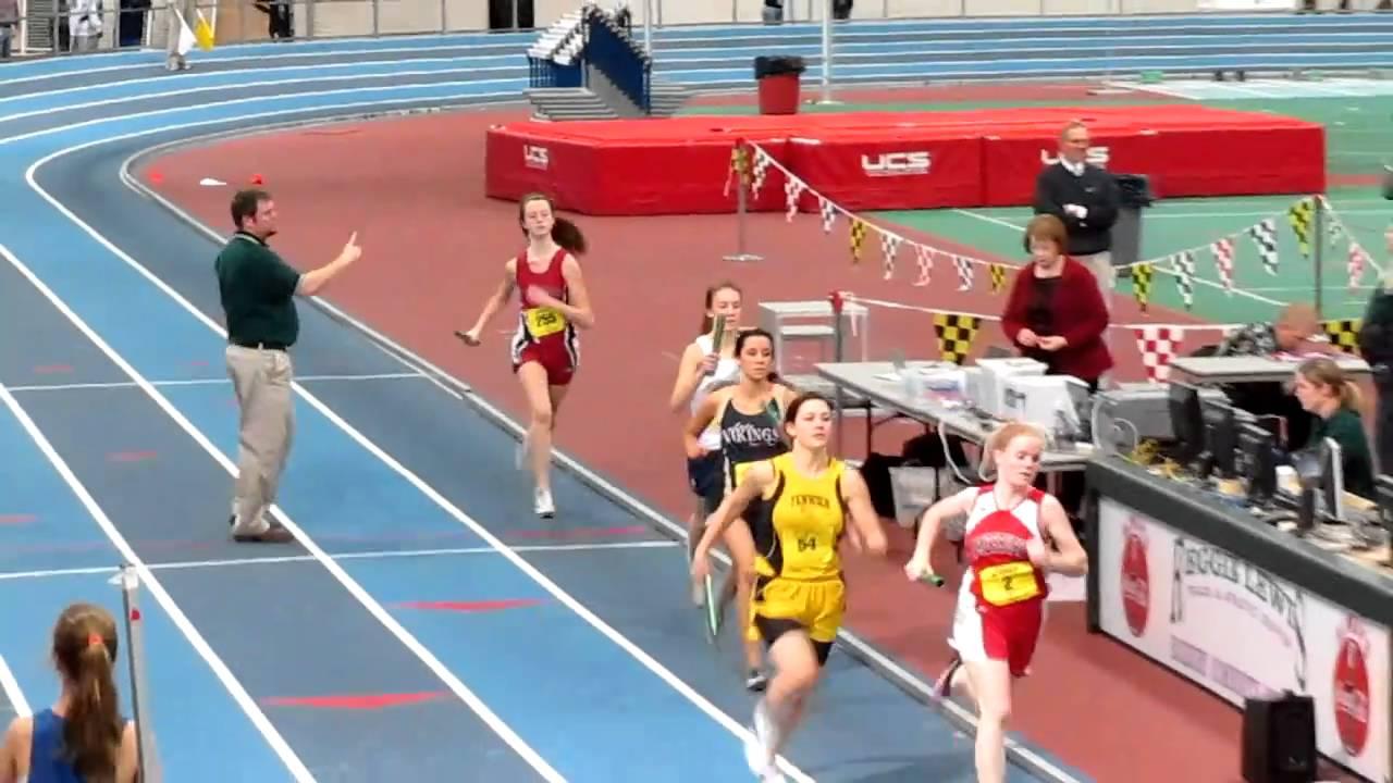 Indoor Track Division 4 States 4x400meter Relay Reggie Lewis