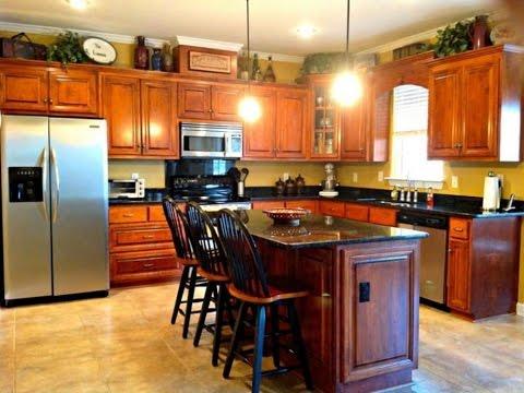 Kitchen Cabinet Decor Ideas - YouTube
