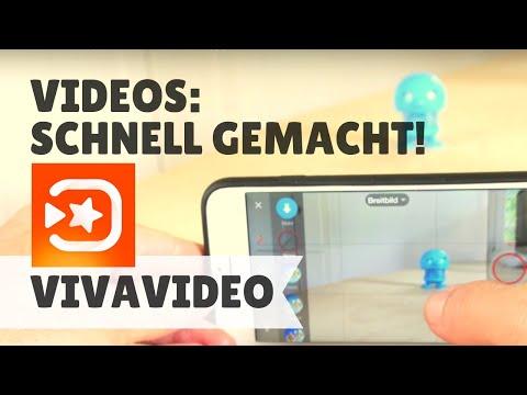 Schnell Videos Produzieren Mit Der App Vivavideo Youtube