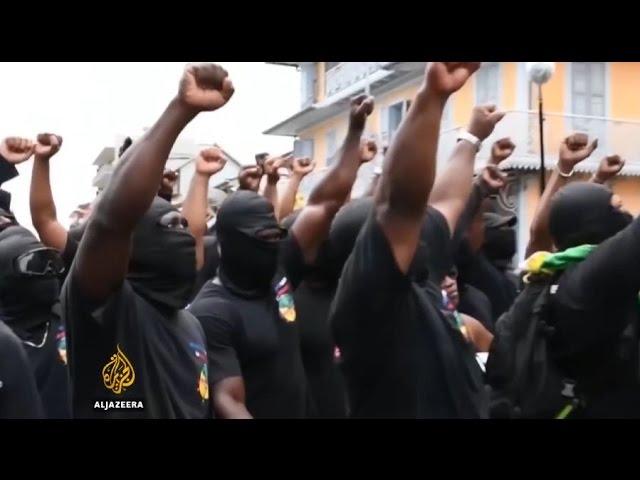 Протесты в Французской Гвиане. Алексей Поднебесный