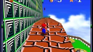 Super Mario 64 - Retro Graphics (N64) - Vizzed.com GamePlay (rom hack)