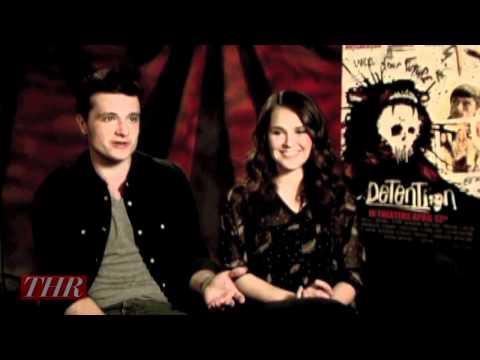 Josh Hutcherson and Shanley Caswell 'Detention'