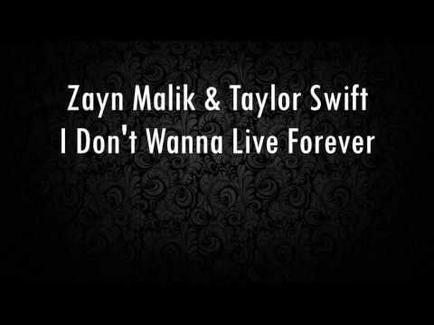 I Don't Wanna Live Forever - Fifty Shades...