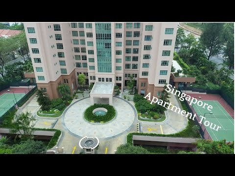 Singapore Apartment Tour (Service Apartment) -   Expat Life
