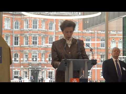 HRH The Princess Royal opens Emily Wilding Davison Building (Short)