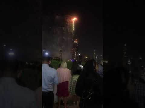 Burjkhalifa Firework show on NEW YEAR Eve