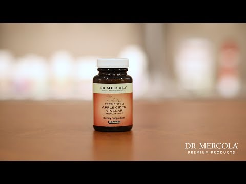 Fermented Apple Cider Vinegar with Cayenne Concentrated for Mitochondrial Health