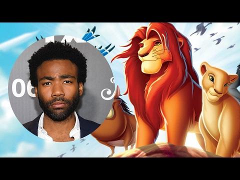 The Lion King Remake Taps Donald Glover & James Earl John To Play Simba & Mufasa