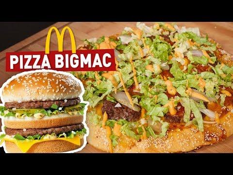COMMENT FAIRE UNE PIZZA BIGMAC ! (Recette McDonald's)