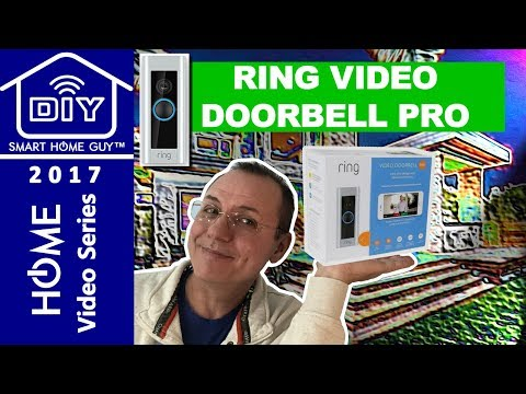 The best price on ring doorbell pro ring video doorbell pro review installation setup and connecting to the wink hub for home security fandeluxe Choice Image