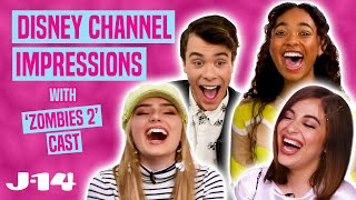 ZOMBIES 2 Cast Does Disney Channel Impressions