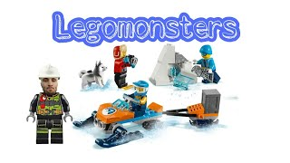Legomonsters 60191 lego city арктика