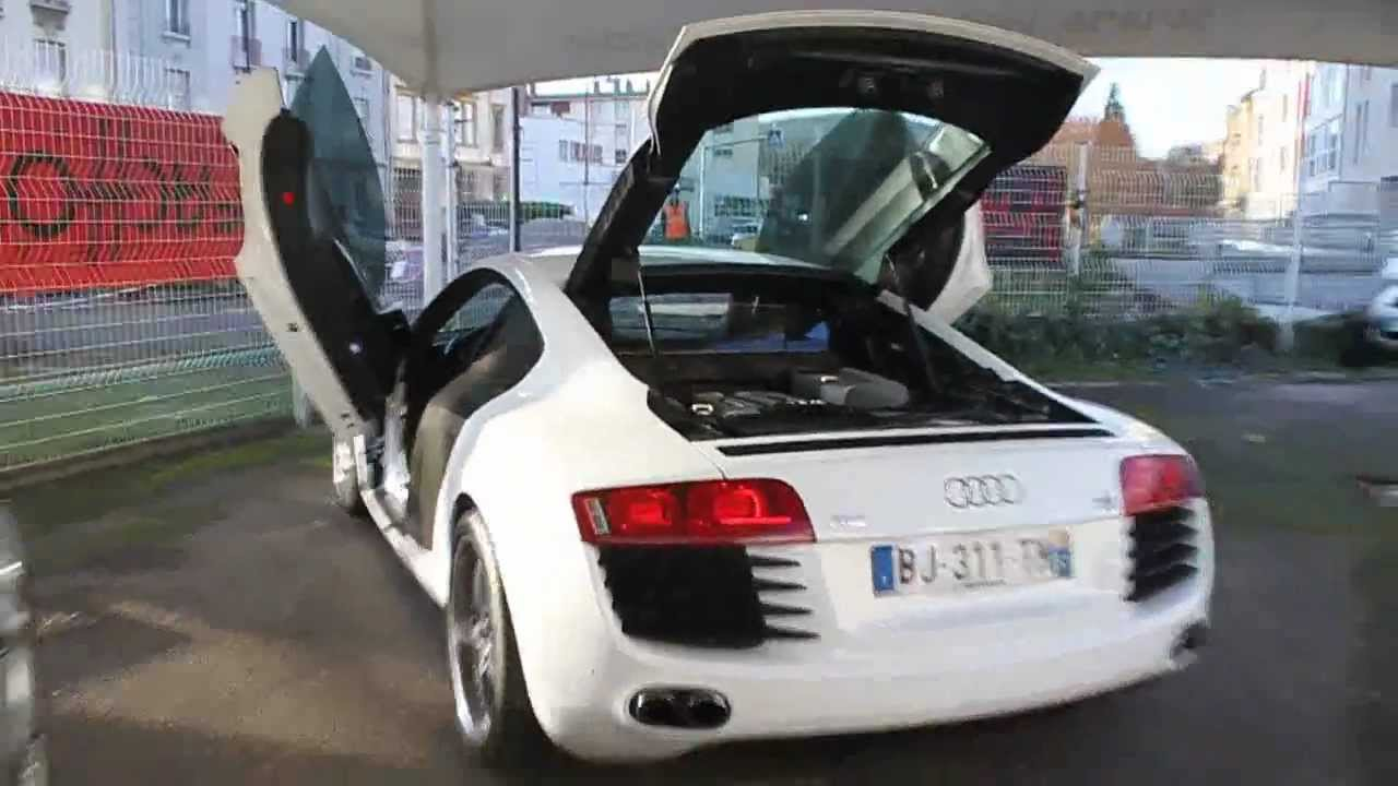 Audi R8 Modified Doors Youtube