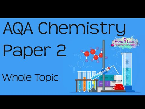 The Whole of AQA Chemistry Paper 2 or C2 in only 48 minutes!! 9-1 GCSE Chemistry Revision