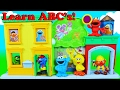 Cookie Monster & Elmo Learn ABCs with Sesame Street Discover ABC's House Playset Learn 26 Letters