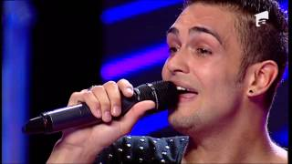 "X Factor Romania - Alexandru Simion - Michael Buble - ""Lost"""