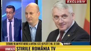 Inregistrare cu Adrian Tutuianu, seful PSD Dambovita difuzata la RomaniaTV, pe 25 Octombrie 2018.