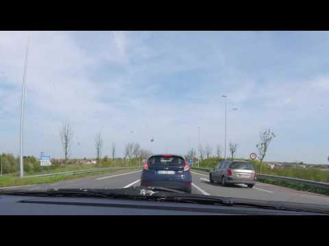 Traffic in Belgium Time Lapse