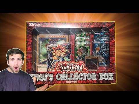 *NEW* YuGiOh Yugi's Collector Box Opening & Review!