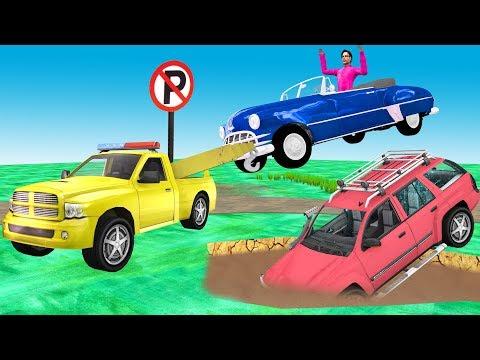 टो ट्रक Tow Truck हिंदी कहानियां Hindi Kahaniya | Bedtime Moral Stories | Animated Hindi Fairy Tales