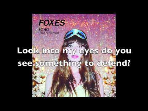 Echo Foxes Lyrics