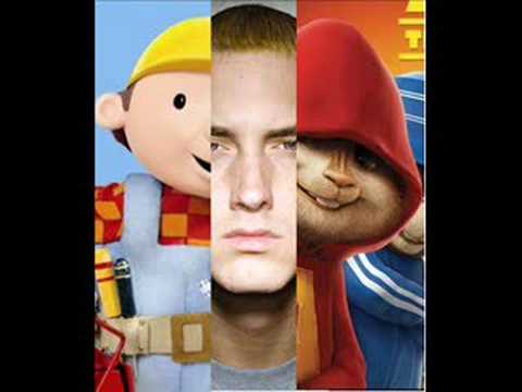 eminem vs bob the bilder chipmunk'd