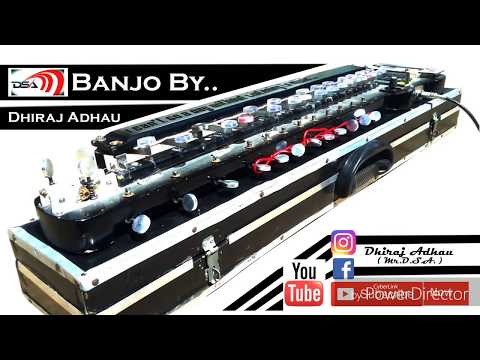 Milo Na Tum To Hum Electronic Bulbul Tarang Banjo  Banjo_By  D.S.A. Octapad_Ashvin Borode