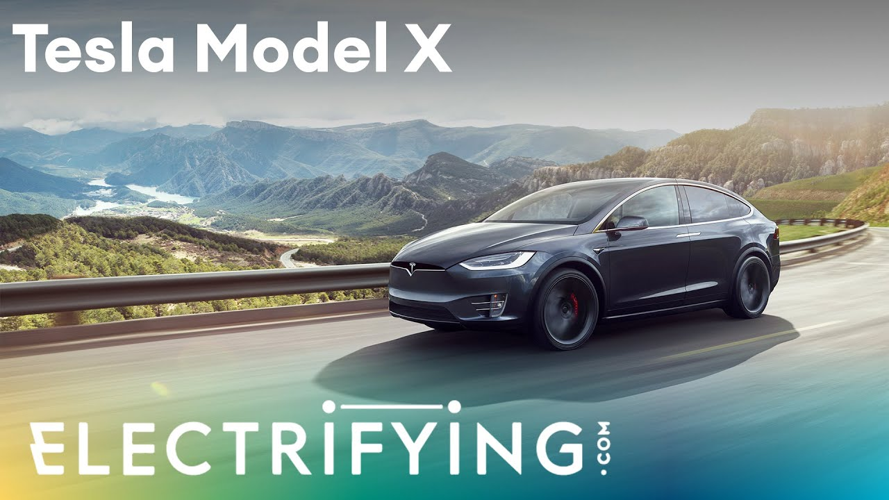 2020 Tesla Model X. In-depth studio review with Ginny Buckley and Nicki Shields / Electrifying
