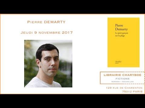 """Pierre Demarty : """"Le petit garçon sur la plage"""" (Librairie Charybde, 9 novembre 2017)"""