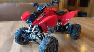 1:12 Honda TRX450r model (review and epic shots) new ray toys