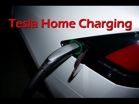 Tesla Model X - Charging at Home