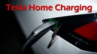Tesla Model X - Charging at Home