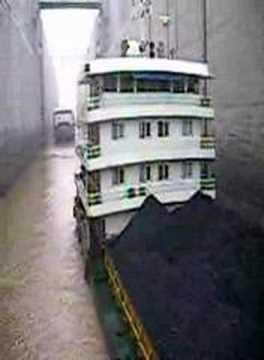 Going Through 3 Gorges Dam Ship Lock