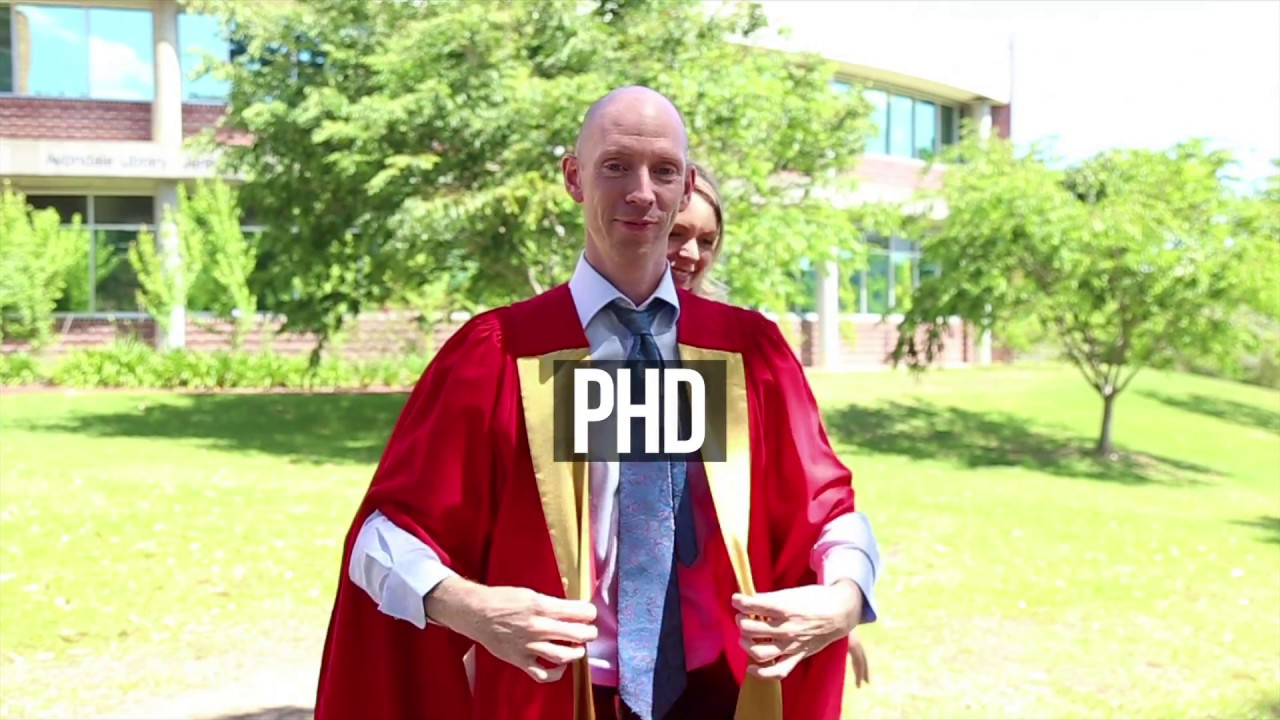 Graduation Regalia - How To - PhD - YouTube