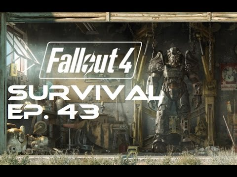 Fallout 4 Survival 100% - Ep. 43 - Mass Pike Tunnel, Fens Street Sewer