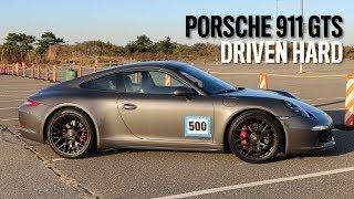 The Fun of Driving the Porsche 911 GTS Hard   2017 Season Finale of Autocross