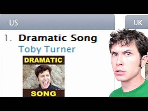 DRAMATIC SONG #1 ON ITUNES!