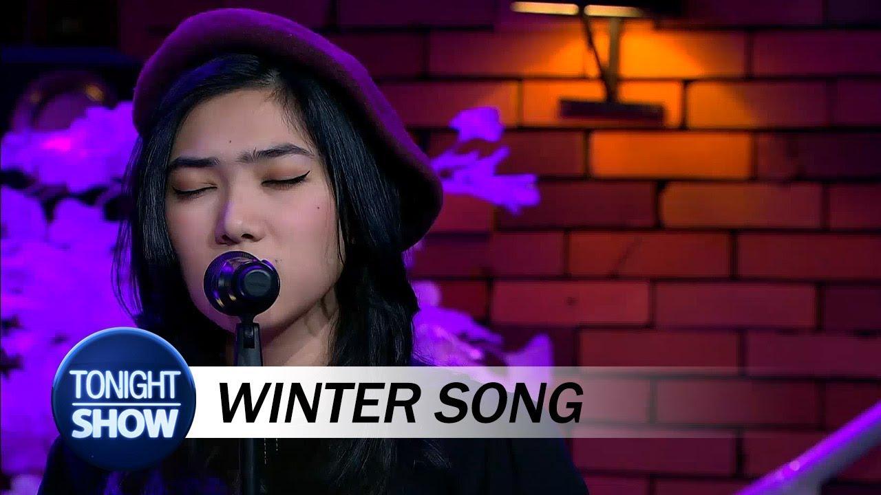 isyana sarasvati winter song special performance youtube. Black Bedroom Furniture Sets. Home Design Ideas