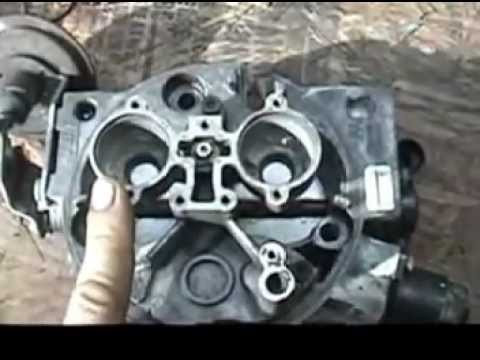 chevy tbi rebuild and injector testing - YouTube