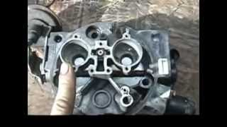 chevy tbi rebuild and injector testing