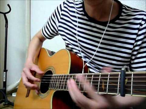 猫の恩返し「風になる」ソロギター(The Cat Returns)Kaze ni Naru solo guitar music