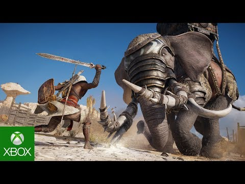 Assassin's Creed Origins: Launch Trailer | Legend of the Assassin |
