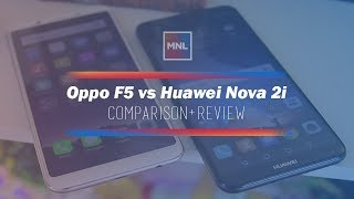 Oppo F5 vs Huawei Nova 2i Comparison + Review