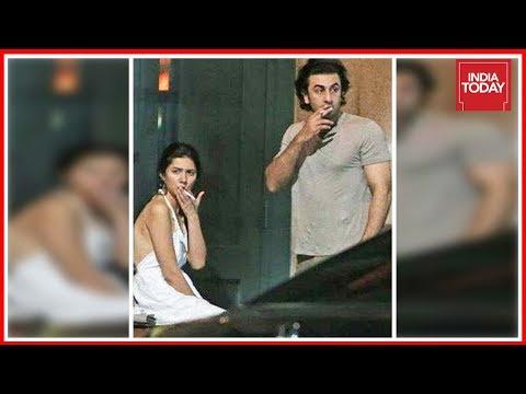 Ranbir Kapoor, Mahira Khan Share A Cigarette, Picture Goes Viral