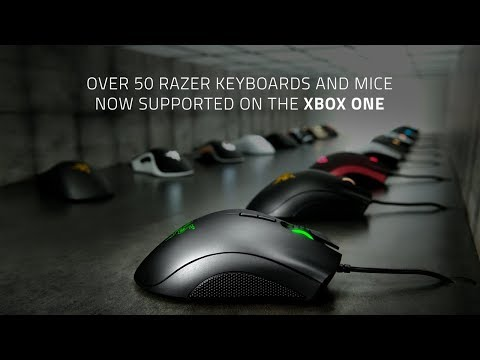 The First Wireless Keyboard and Mouse Designed for the Xbox