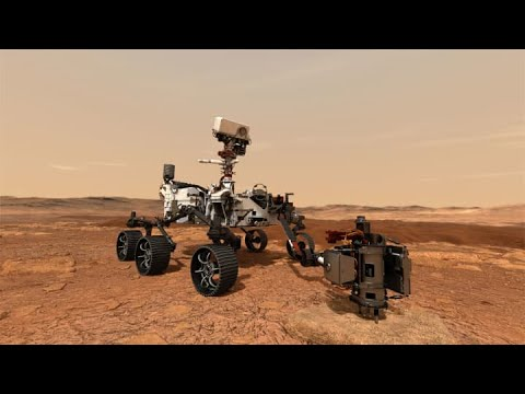NASA-reveals-video-of-the-Perseverance-rover-landing-on-Mars