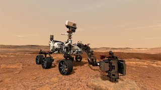 NASA reveals video of the Perseverance rover landing on Mars