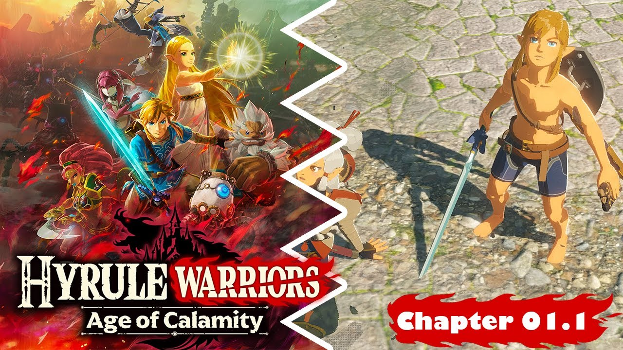 Hyrule Warriors Age Of Calamity Chapter 3 Mission 2 The Road Home Besieged Youtube