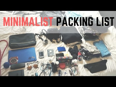 Minimalist Backpacking List for 'Carry On Only' Travel | Osprey Far Point 40