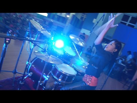 The most popular requested song ever  -  Drum Cover by Nur Amira Syahira (SOUQ)